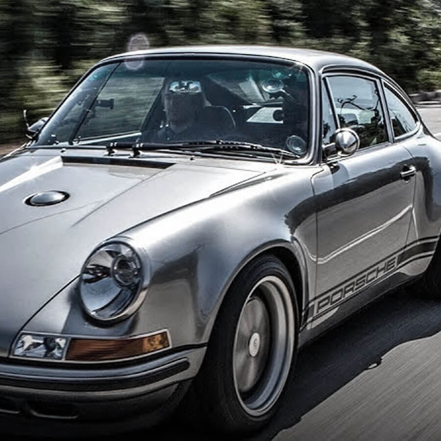 VIDEO: Jay Leno Reviews Singer Vehicle Design's 100th 911